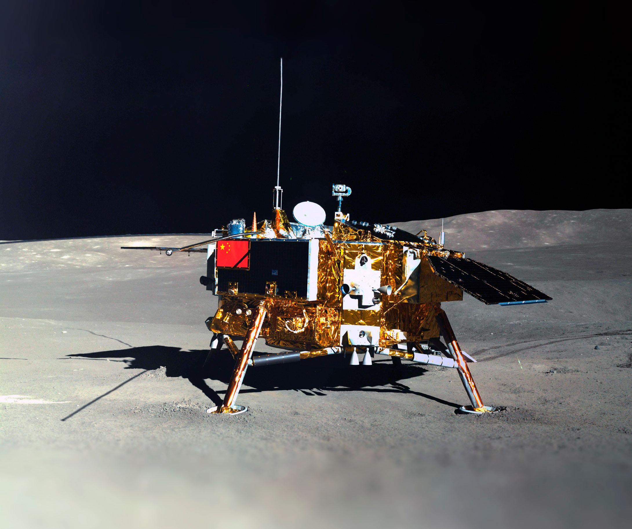 Змащений Sinopec зонд в 2019 році вперше в історії досягнув зворотнього боку Місяця